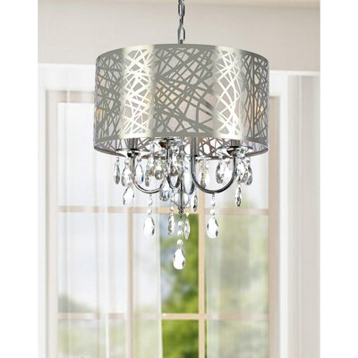 Mcmath 4-Light Drum Chandelier