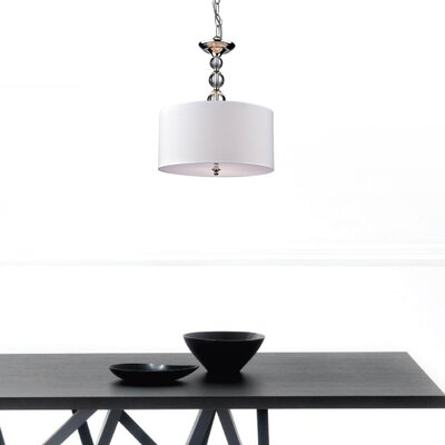 Payan 3-Light Drum Pendant