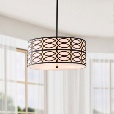Payeur 3-Light Drum Pendant
