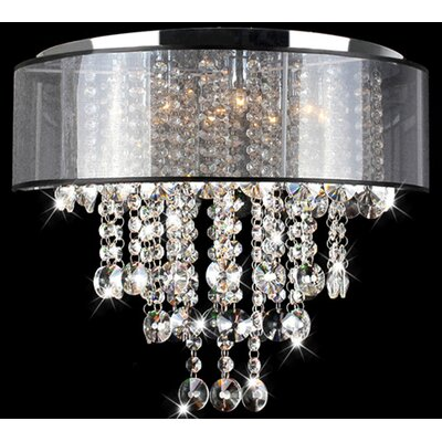 Visalia 9-Light Flush Mount