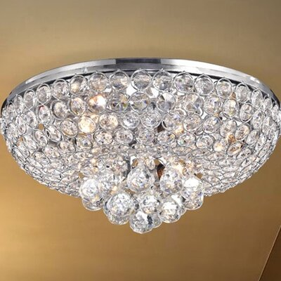 Francisca 4-Light Flush Mount