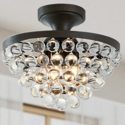 West Town 4-Light Semi Flush Mount