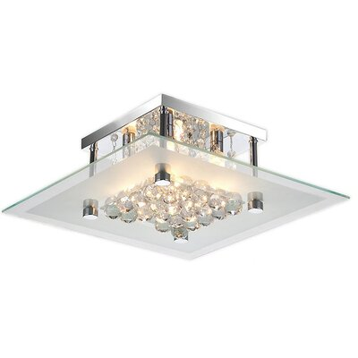 Paxson 4-Light Semi Flush Mount