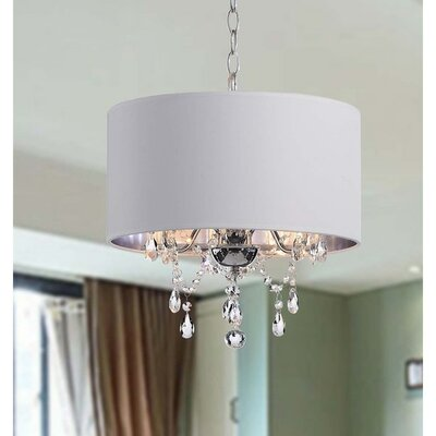 Summers 3-Light Drum Chandelier