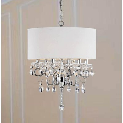 Hawkins 6-Light Drum Chandelier