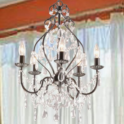 Wilkerson 5-Light Candle-Style Chandelier