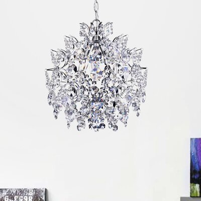 Nolan 3-Light Crystal Pendant
