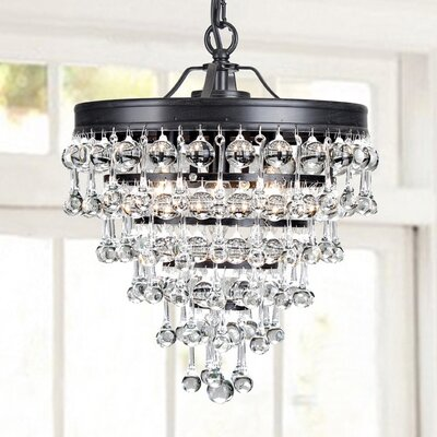 Mclachlan 3-Light Mini Crystal Chandelier