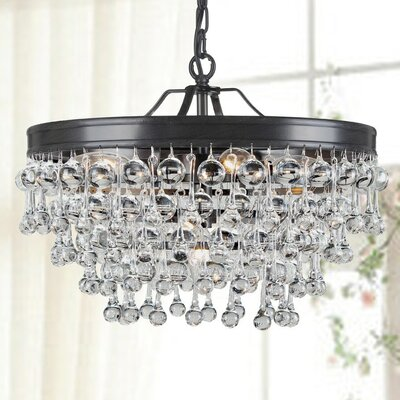 Claudia 5-light Mini Crystal Chandelier