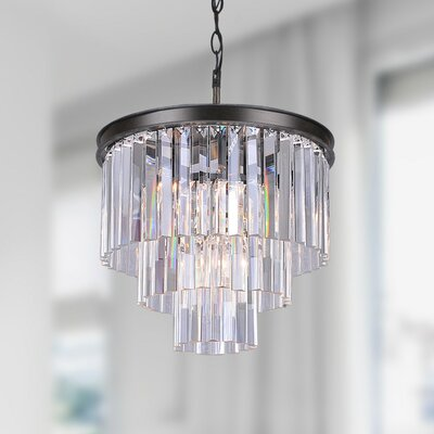 Justina 5-light Mini Crystal Chandelier