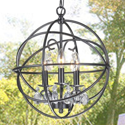 Dalveen 3-light Globe Pendant