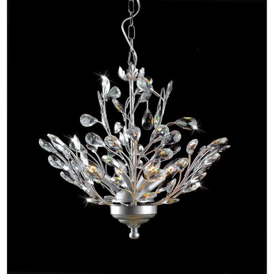 Holly 4-Light Crystal Chandelier