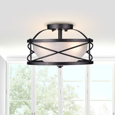 Bowe 3-Light Semi Flush Mount