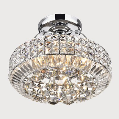 Madilynn 4-Light Semi Flush Mount