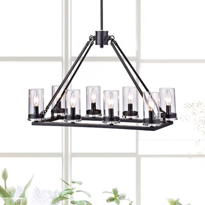 Sherron 8-Light Kitchen Island Pendant