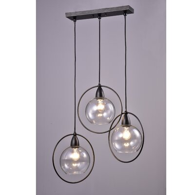 Mouton 3-Light Cluster Pendant