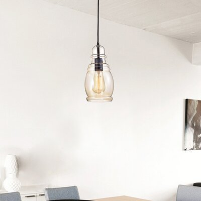 Pruett 1-Light Mini Pendant