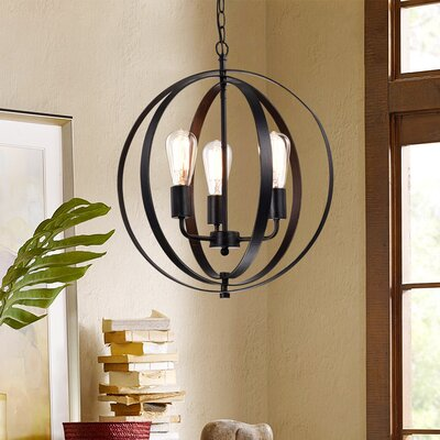 Belby 3-Light Globe Pendant