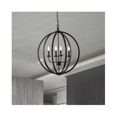 Pruneda 4-Light Globe Pendant