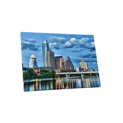 'Austin Texas City Skylines' Photographic Print on Canvas Size: 11