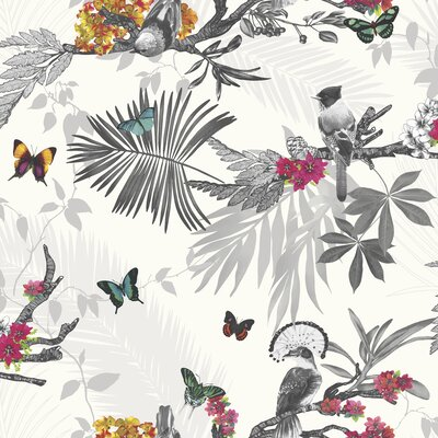 Mystical Forest White Multi 33.5