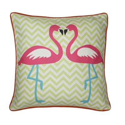Guadalupe Flamingo Throw Pillow