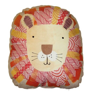 Griffith Fun Lion Throw Pillow