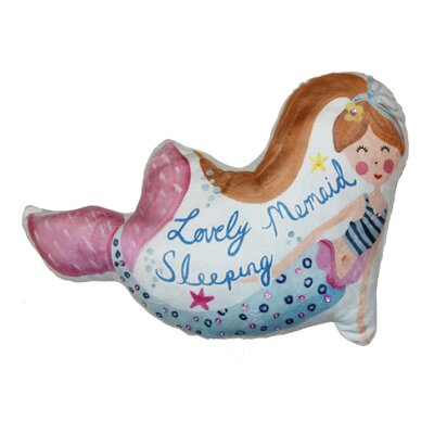 Sybil Mermaid Lumbar Pillow