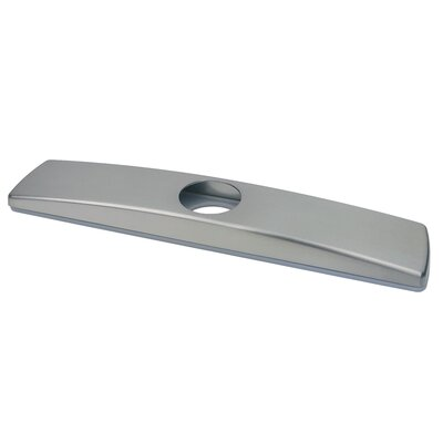 Kitchen Sink Faucet Deck Plate Finish: Stainless Steel