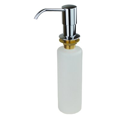 Kitchen Sink Soap & Lotion Dispenser Finish: Chrome