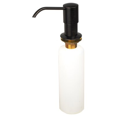 Kitchen Sink Soap & Lotion Dispenser Finish: Brushed bronze