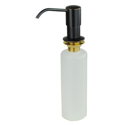 Kitchen Sink Soap & Lotion Dispenser Finish: Oil rubbed bronze