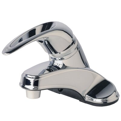 Centerset Single Handle Bathroom Faucet Finish: Chrome