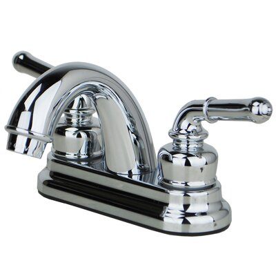 Centerset Double Handle Bathroom Faucet Finish: Chrome