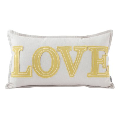 Love Lumbar Throw Pillow
