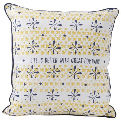 Great Company Throw Pillow