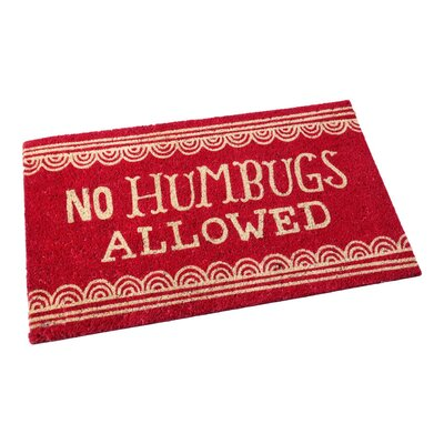 No Humbugs Allowed Doormat