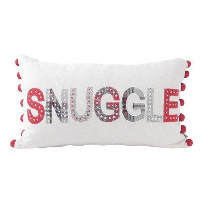 Snuggle Applique Lumbar Pillow
