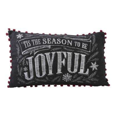 Tis the Season to Be Joyful Lumbar Pillow
