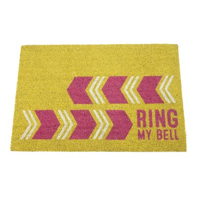 Beil Ring My Bell Natural Coir Doormat