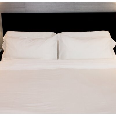 Siesta Pillowcase Color: Snow, Size: King