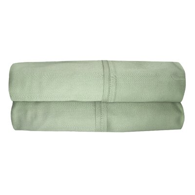 Siesta Pillowcase Color: Sage, Size: Queen