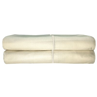 Vertika Pillowcase Color: Birch, Size: Standard
