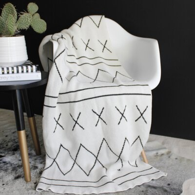 Rockin Moroccan Throw Blanket