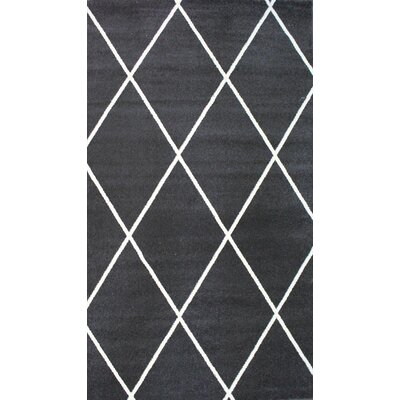 Madison Avenue Dark Gray Area Rug Rug Size: 5 x 8