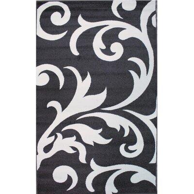 Melendez Ivory/Grey Area Rug Rug Size: 8 x 10