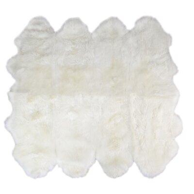 Octo Handmade Ivory Area Rug