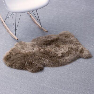 Handmade Beige Area Rug