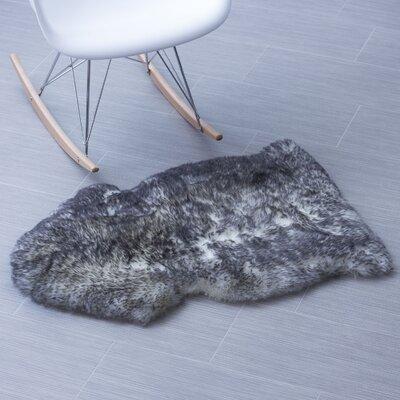Handmade Gray Area Rug