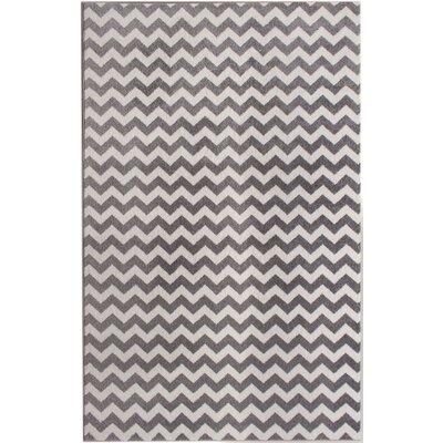Merissa Gray Area Rug Rug Size: 5 x 8